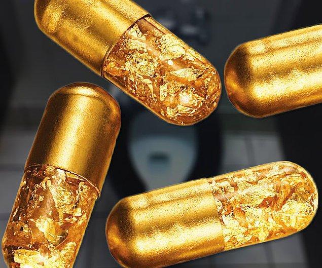"""3. """"B*kunuzu altın rengi yapan kapsül altınlar..."""""""