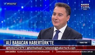 Ali Babacan Canlı Yayında Yeni Kuracağı Partiyi Anlattı: 'AKP Dışından Olanlar Çoğunlukta Olacak'