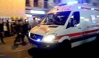 Bu da Oldu: 'Yol Verme Meselesi' Yüzünden Şoförle Tartışıp, Ambulansa Kurşun Yağdırdılar!