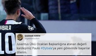 Merih İtalya'yı Fethediyor: Arjantinli Yıldız Dybala'dan Asker Selamlı Gol Kutlaması Geldi, Twitter Mizaha Boğuldu