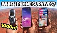 Hangisi Daha Dayanıklı Testi: Nokia 3310, iPhone 11 ve Galaxy S10 Düşme Testinde!