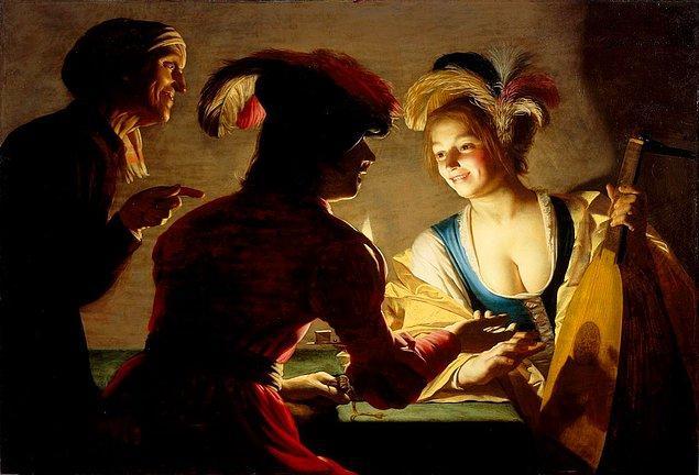 Hollandalı Barok dönem ressamı Gerard van Honthorst, gerçekçilik ile yapay ışığın dramatik kullanımını bir arada kullanarak harikalar yaratmış bir sanatçı.