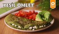 Renginde Sağlık Var! Yeşil Omlet Nasıl Yapılır?