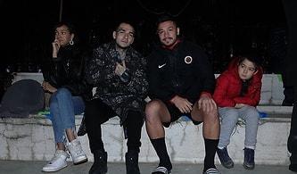 Ezhel'den Gençlerbirliği'ne Ziyaret: Kırmızı Kara, Burası Ankara