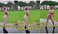 Yaptı Yine Yapacağını: Aleyna Tilki Yağmur Dansı Yaptığı Videoyu Paylaşınca Sosyal Medyadan Tepkiler Gecikmedi