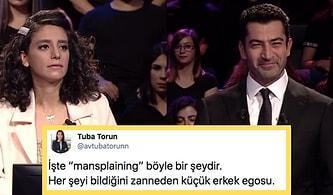 """Kenan İmirzalıoğlu'nun Programa Katılan Kadın Yarışmacıya """"Mansplaining"""" Uyguladığı Söylendi, İnsanlar İkiye Bölündü!"""