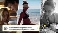Ahlak Bekçileri Yine İş Başında! Yeni Doğum Yapan Müge Boz Emzirirken Fotoğraf Paylaştığı İçin Linç Edildi