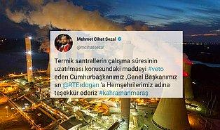 AKP Oylarıyla Kabul Edilmişti: Erdoğan'ın Veto Ettiği Tasarı İçin İlk 'Teşekkür' AKP Vekillerinden Geldi
