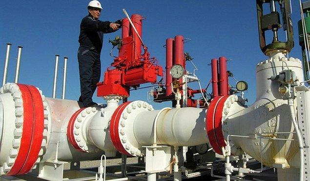 Aylık en fazla düşüş ham petrol ve doğal gazda