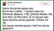 'İçkinin Kur'an'da Cezası Yok' Diyen İlahiyatçı İhsan Eliaçık'ın Başlattığı Tartışma Gündeme Bomba Gibi Düştü