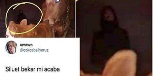 Ahırda Fotoğrafı Çekilen Gizemli Silüete Twitter'da Tepkiler Gecikmedi