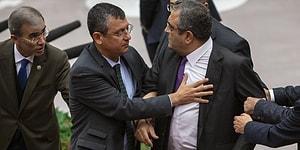 O Sırada Meclis'te... 'İt Dedin' Tartışması Nedeniyle CHP ve MHP Grupları Arasında Gerginlik