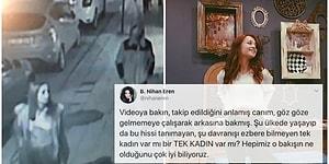 Son Bakıştaki O Gözler Kaldı Aklımızda... Ceren Özdemir'in Kendisini Takip Eden Katiline Bakışı Sosyal Medyanın Gündeminde