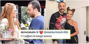 'Sağlam Bir Kavga Sonrası' Eşiyle Olan Fotoğrafını Paylaşan Demet Akalın'a Okan Kurt'tan Güldüren Bir Cevap Geldi!