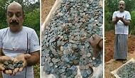 Bu Nasıl Şans! Lotodan Çıkan Parayla Aldığı Arazide Define Buldu!