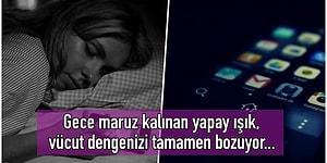 Abi Yapma, Bırak O Telefonu Yerine: Yatmadan Evvel Cep Telefonuyla Oynamak Kan Şekerinizi Yükseltiyor