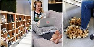 Silikon Vadisi'nden Dünyaya Yayılan Yeni Bir İş Dünyası Trendi: Ayakkabısız Ofis Konsepti