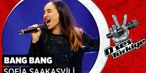 O Ses Türkiye'de Sofia Saakasvili'den Muhteşem 'Bang Bang' Performansı!