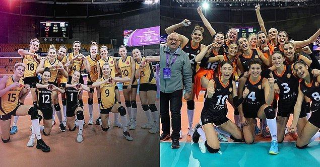 Her iki takımımız da dünyanın en iyi kulüplerinin yer aldığı şampiyonada dereceye girerek bizleri bir kez daha gururlandırdılar. Tebrikler kızlar! 👏👏👏