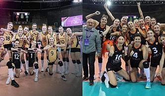 Dünya Kulüpler Şampiyonası'nda Eczacıbaşı Dünya İkincisi, Vakıfbank Dünya Üçüncüsü Oldu!