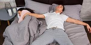 Sevgililerin Yataktaki Uyuma Şekillerine Göre Yapılmış Birbirinden Gerçekçi Analizler