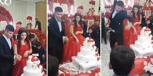 Kendi Düğününü Birbirine Katan Aşırı Sinirli Damat