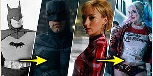 Bayılarak İzlediğimiz Çizgi Romandan Uyarlanmış Film ve Dizilerdeki Süper Kahramanların İlk ve Son Halleri