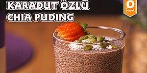 Lezzeti Meyveden: Karadut Özlü Chia Puding Nasıl Yapılır?