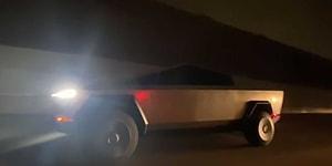 Elon Musk'ın Yeni Oyuncağı Cybertruck Trafikte Seyir Halindeyken Görüntülendi!