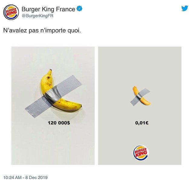 2. Burger King Fransa