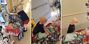 Kanser Hastası Miniklerin Hastanede Kaydedilen Muhteşem Arkadaşlık Görüntüleri