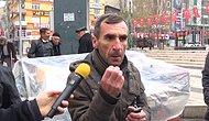 """'İntiharın Eşiğindeyim' Diyen İşsiz Vatandaş İsyan Etti: """"Vali Sırtımı Sıvazlıyor 'Peçete Sat' Diyor"""""""