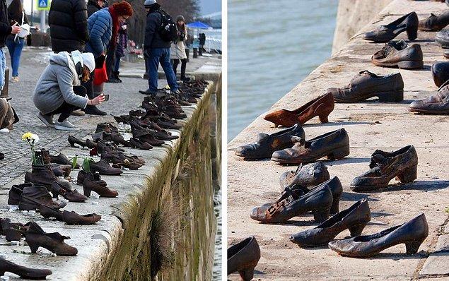 5. Shoes on the Danube Bank/ Tuna Nehri Kıyısındaki Ayakkabılar