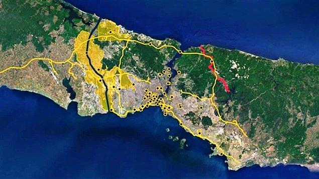 """""""Kanal İstanbul"""" projesi için hazırlanan Çevresel Etki Değerlendirme (ÇED) raporu askıya çıkarıldı."""