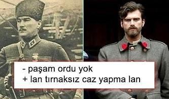 Kıvanç Tatlıtuğ'un Mustafa Kemal Atatürk'ü Canlandıracağını Duyan Goygoyculardan Birbirinden Komik Tepkiler