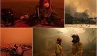 Gökyüzü Kırmızıya Döndü: Avustralya'daki Orman Yangınlarında 4 Bin Kişi Sahile Sığındı