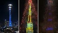 Dubai, 2020'ye Görkemli Işık Şovuyla Girdi!