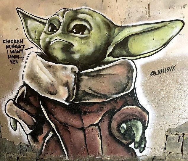 10. Bebiş Yoda, Avustralya'ya da uğramış.