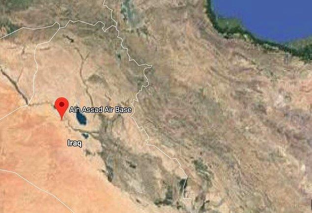 ABD Başkanı Donald Trump, 28 Aralık'ta Irak'a gelerek, Ayn el Esed Hava Üssü'ndeki ABD askerlerini ziyaret etmişti.