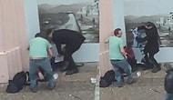 İzmir'de Yol Kenarında Dilenen Kişiye Kıyafetlerini Çıkartıp Giydiren Vatandaşlar!