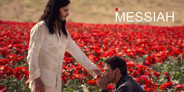 """Mesih ve Mehdi iddiasıyla gündeme gelen insanlarla birlikte bu iki kavram hakkında birçok tartışma yapılırken Netflix, """"Messiah"""" dizisiyle bu tartışmaları daha da alevlendirdi."""