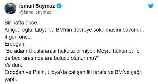 Erdoğan'a sosyal medyadan da eleştiriler geldi...