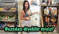Biz Evdekini Zorla Doldururken Kim Kardashian'ın Sahip Olduğu Devasa Buzdolabı Odası Fakirliğinizi Yüzünüze Vuracak!