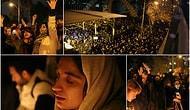 İran'da Anma Törenleri Rejim Karşıtı Gösteriye Dönüştü; Trump, Farsça Tweet Atarak 'Cesaretiniz İlham Verici' Dedi