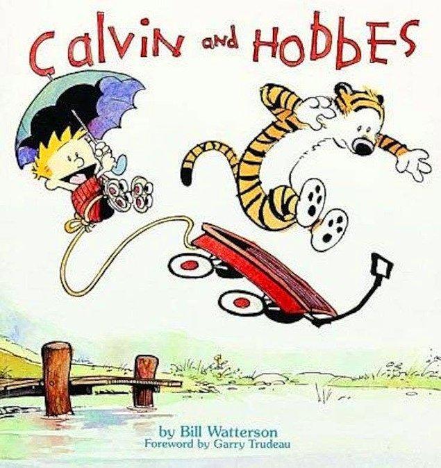 10. Calvin ve Hobbes