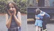 Yangınlarla Mücadele Etmek İçin 11 Gündür Gönüllü İtfaiyecilik Yapan Babalarına Kavuşan Kızlardan Sevinç Çığlıkları!