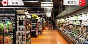 Kanada ve Türkiye'de Asgari Ücret Karşılaştırması: Aynı Ürünlerden İki Ülkede Ne Kadar Alınabiliyor?