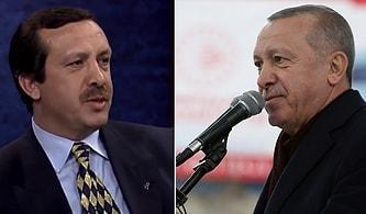 Görüntüler Arşivden Çıktı: Belediye Başkanı Erdoğan, Cumhurbaşkanı Erdoğan'a Karşı