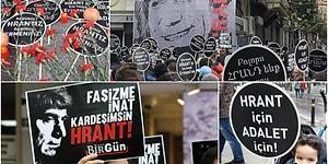 13 Yılıdır Adalet Aranıyor: Hrant Dink Vurulduğu Yerde Anılıyor
