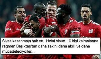 Yiğidolar İstanbul'dan 3 Puanla Dönüyor! Beşiktaş-Sivasspor Maçında Yaşananlar ve Tepkiler